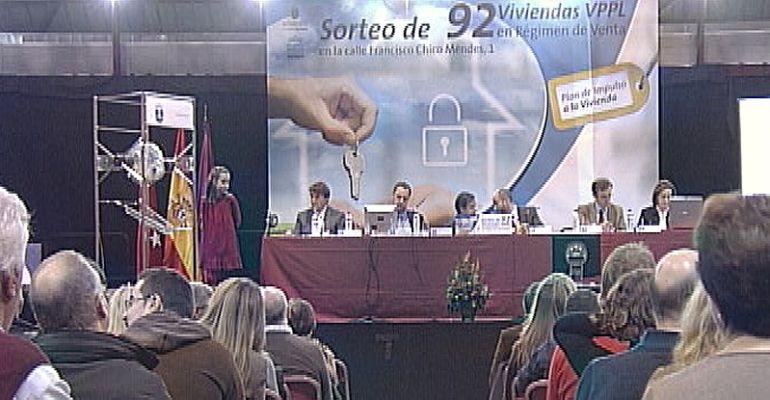 Sorteo de viviendads de Protección Pública en Alcobendas