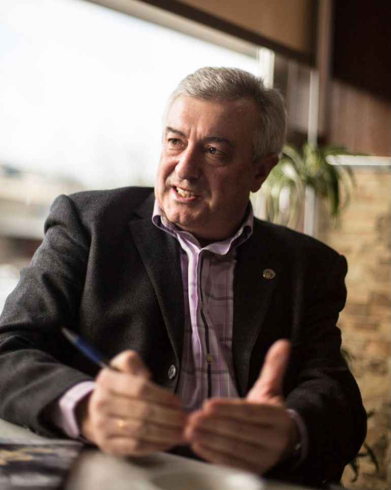 Juan Viaño Rey, rector de la Universidad de Santiago de Compostela