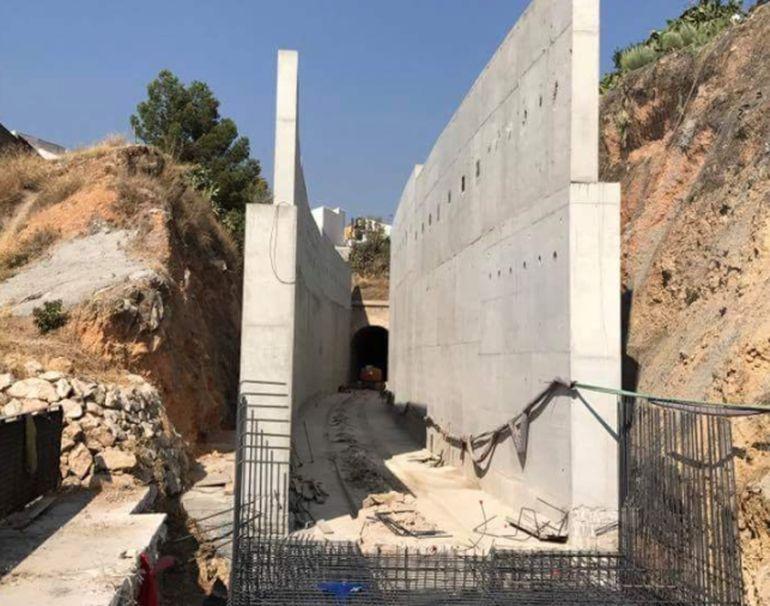 Adecuación de un túnel en el tramo convencional ferroviario en Loja (Granada) para el paso de trenes AVE