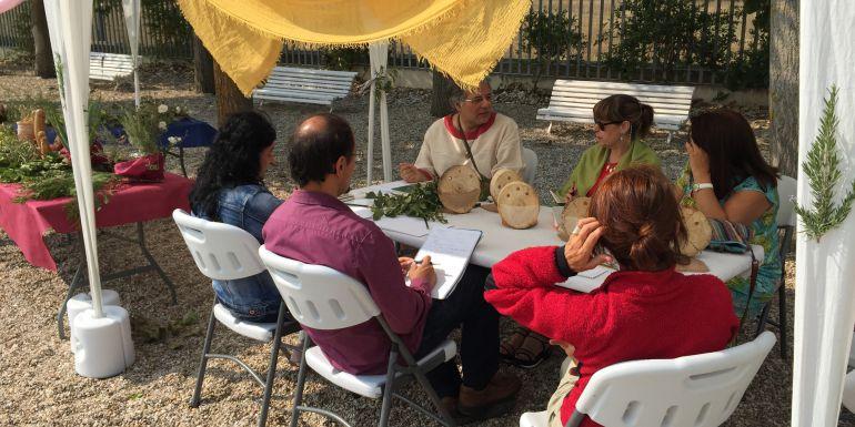 Un curso en la Olmeda analiza los jadines de las villas romanas