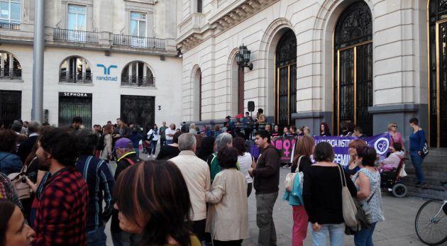 La Coordinadora de Organizaciones Feministas de Zaragoza se ha sumado a esta convocatoria estatal