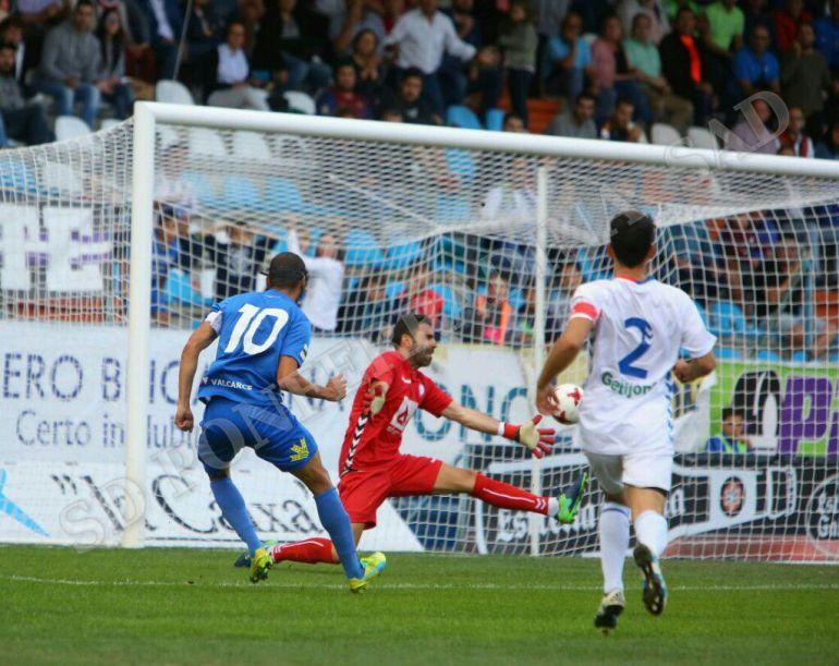 La Ponferradina ganó su primer partido de liga , tras derrotar al Rayo Majadahonda.