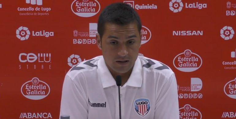 Francisco valoró la victoria del Lugo por 0-1 en Albacete
