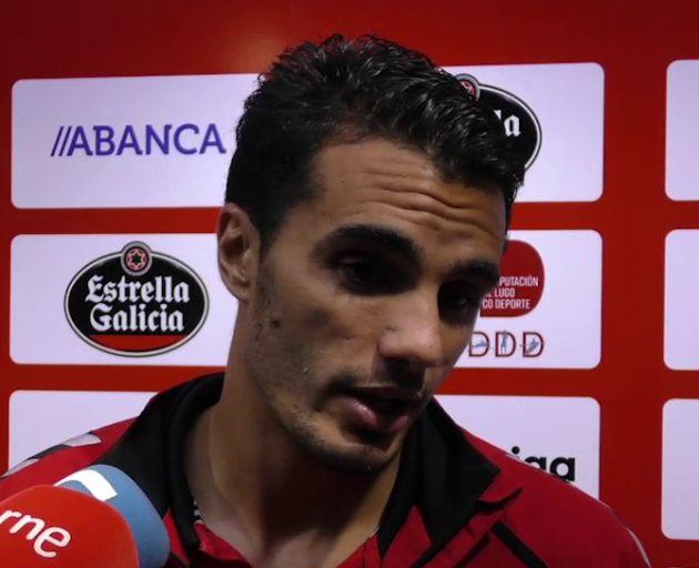 Iriome González fue el autor del gol del Lugo en Albacete