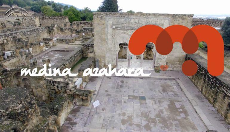 Imagen del video promocional de Medina Azahara realizado por la Consejería de Cultura.