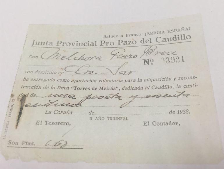 Así llegó el pazo de Meirás a los Franco