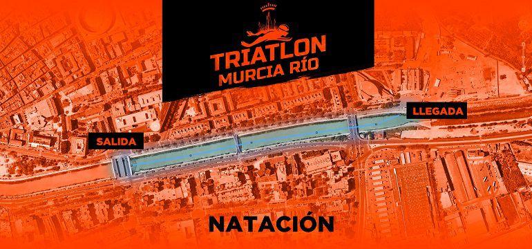 Suspenden el I Triatlón Ciudad de Murcia por el estado de las aguas del río Segura