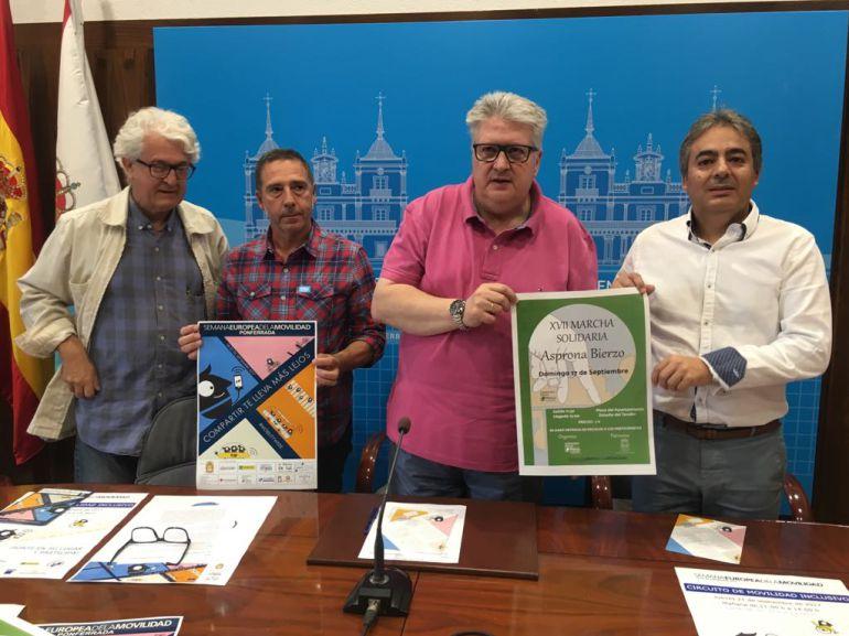 Ponferrada acoge un año más la Semana Europea de la movilidad