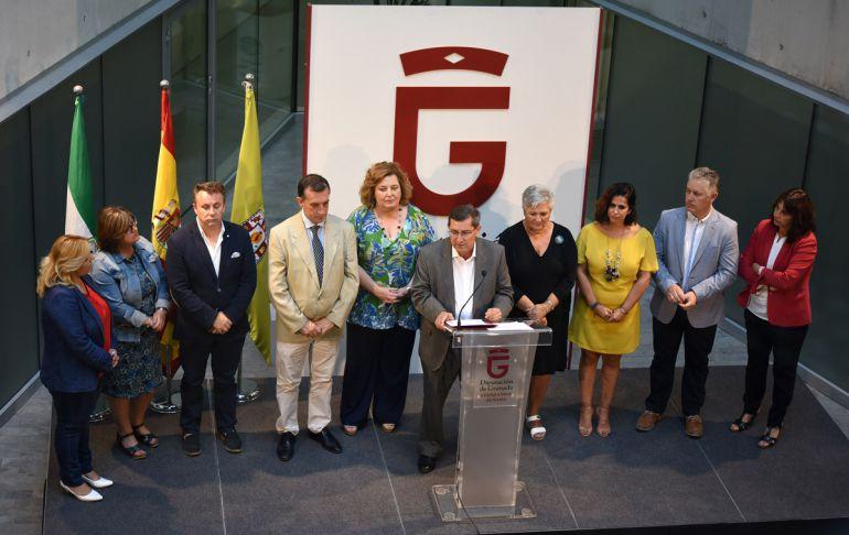 Presentación de las prioridades del gobierno de la Diputación de Granada para el nuevo curso político