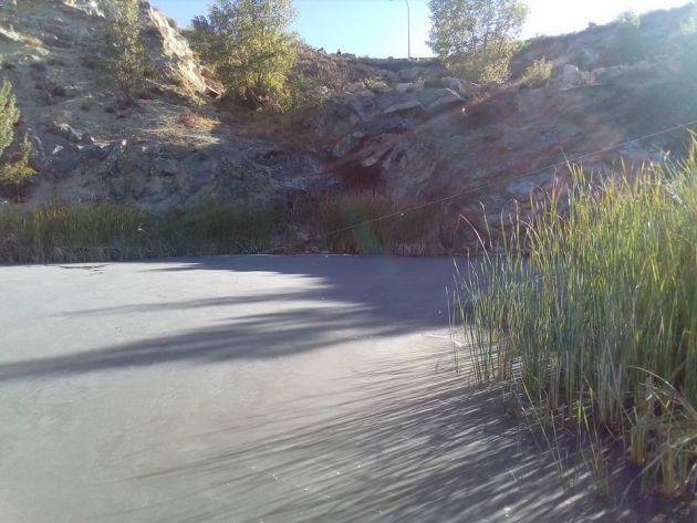 Denuncian un vertido con extintores en el Lago Alonso de Nueva Segovia