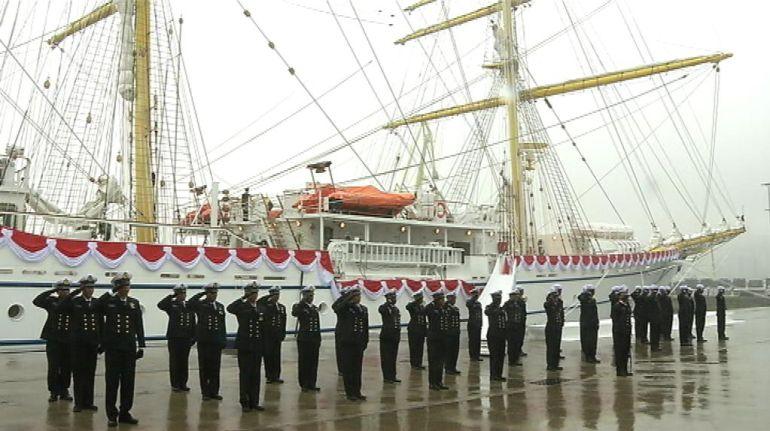 Es ya el buque insignia del ejército de Indonesia.