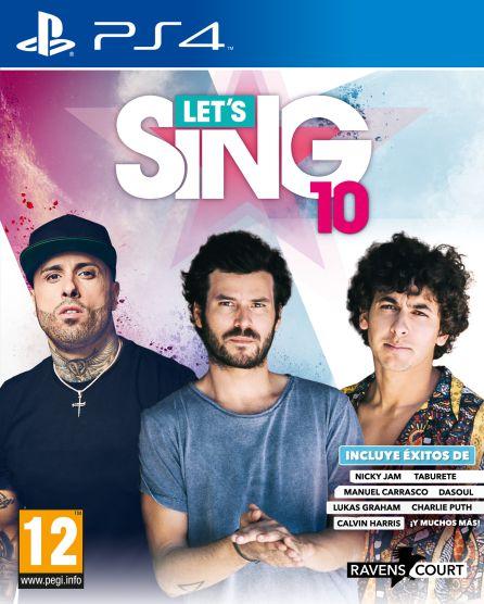 Portada de Let`s Sing 10