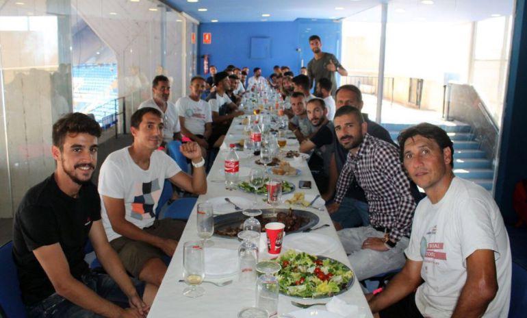 Gustavo Siviero invitó a un asado argentino a toda la plantilla por su cumpleaños