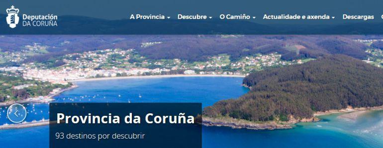 Web de la Diputación