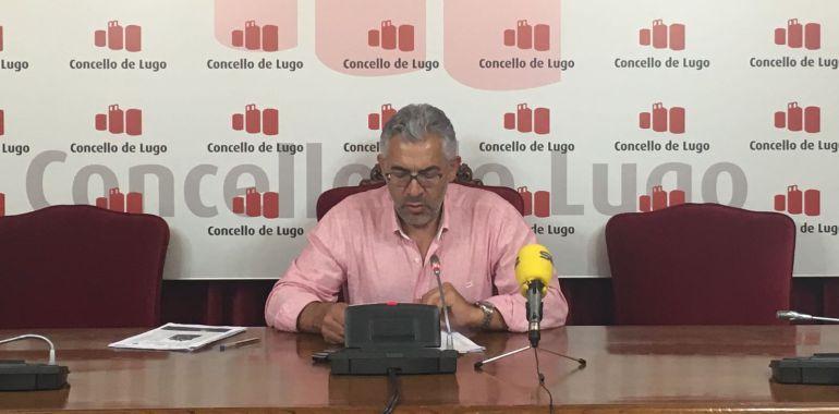 Miguel Fernández, portavoz del gobierno de Lugo