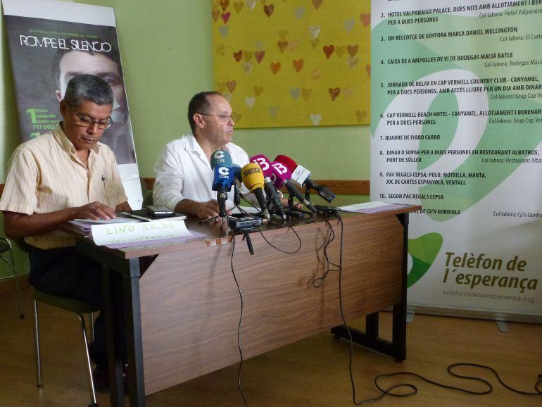 Durante el año pasado 1.318 personas de Balears llamaron al Teléfono de la Esperanza