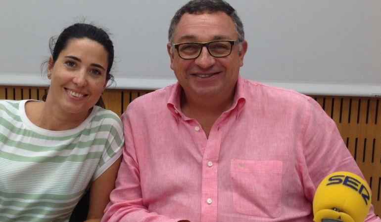 Vicent Llorens, Director General del Consorcio, y Raquel Ballester, coordinadora del programa del Décimo aniversario de la Marina, han pasado por el programa Hoy por Hoy Locos por Valencia