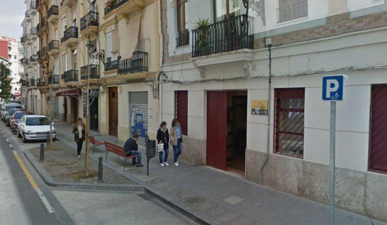 La sede de la Universidad Popular de Russafa, en la calle Dénia,en una imagen reciente