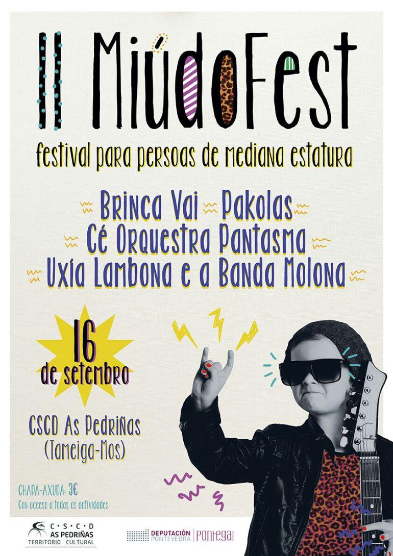 Cartel oficial de la segunda versión del festival en Mos