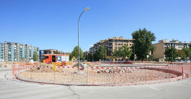 La nueva rotonda que permitirá unir dos zonas del municipio