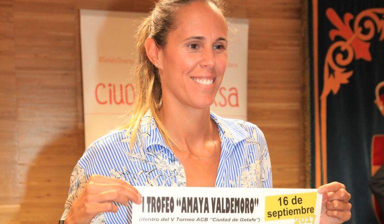 Amaya Valdemoro, que da nombre al torneo femenino