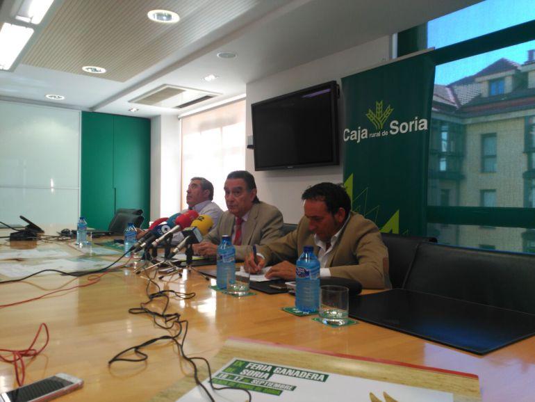 Diputación colabora con la feria ganadera de Soria