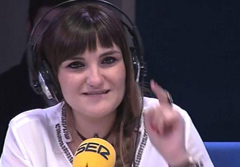 La artista María Rozalén