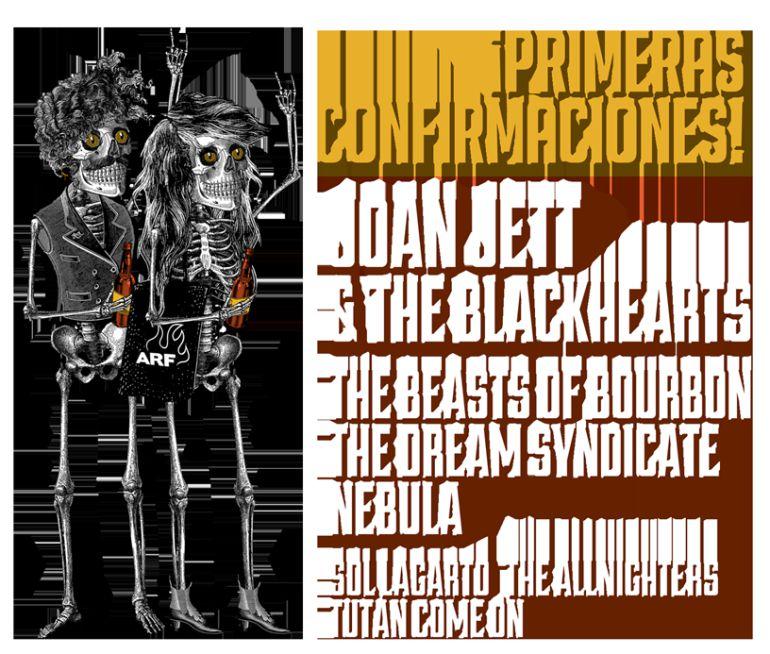 Cartel que anuncia las primeras incorporaciones al festival de 2018