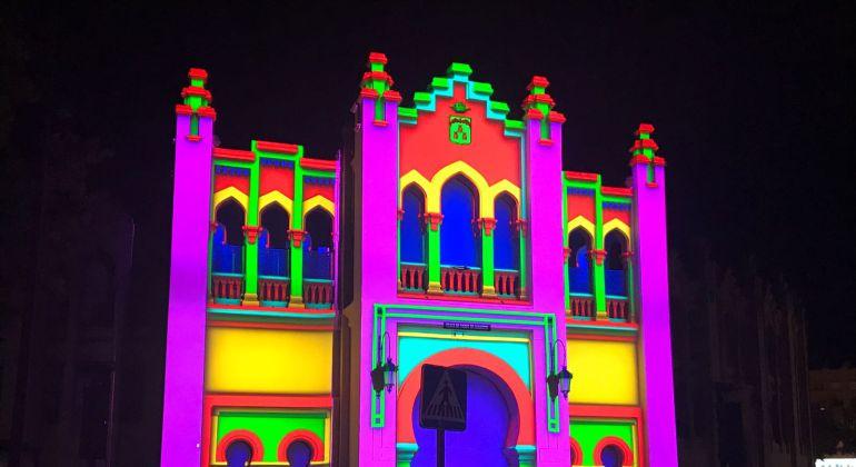 Así lució la Plaza de Toros de Albacete durante le espectáculo