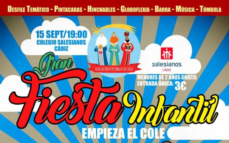 Fiesta Infantil Empieza el Cole en Salesianos Cádiz
