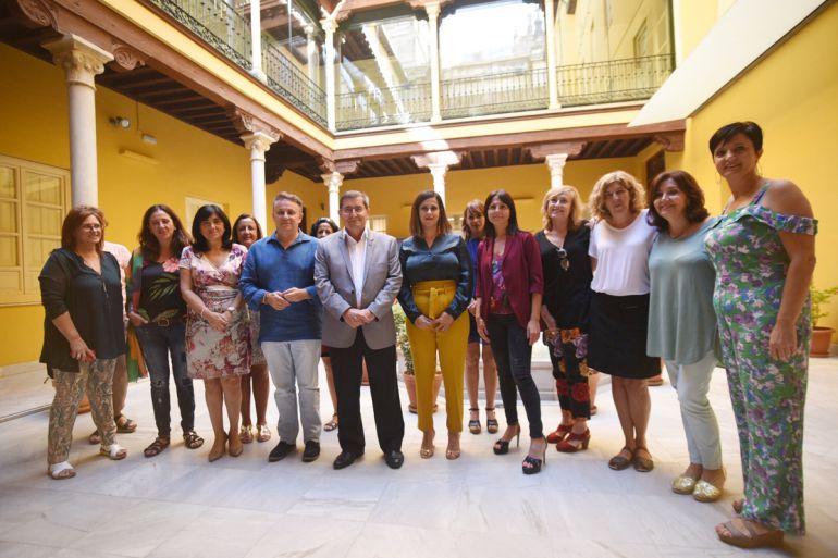 Reunión en Granada de las responsables de Igualdad de las Diputaciones andaluzas