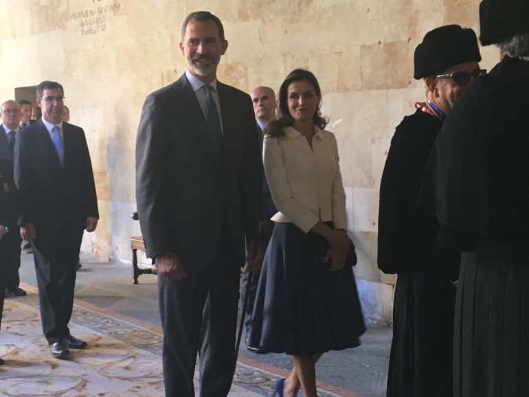 Los Reyes presiden la apertura del curso de las universidades