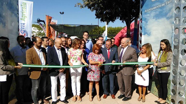 Inaugurada la XXXV Feria de Maquinaria Agrícola de Úbeda, cita ineludible para agricultores y casas comerciales
