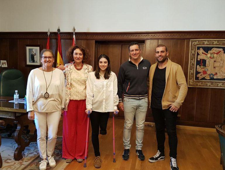 El Ayuntamiento de Ponferrada se une a la causa de la atleta Marta Casado