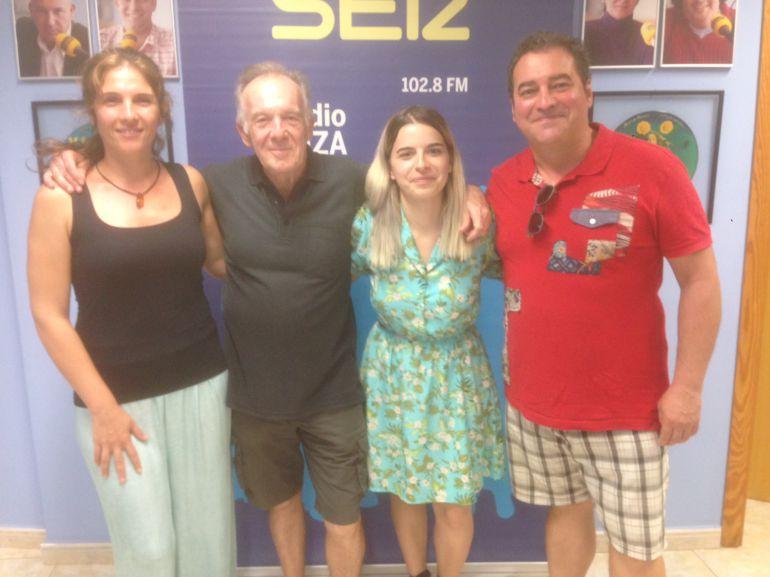 Luciaana Aversa, Julio Herranz, Alba Fuster y Toni Ruiz