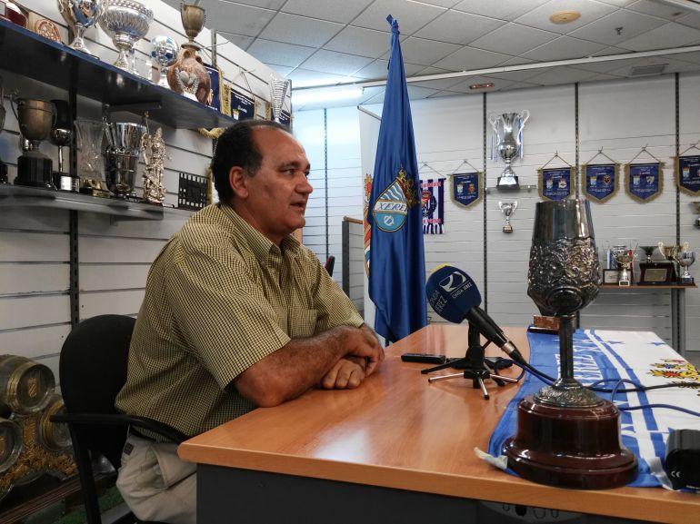 Vicente Vargas, entrenador del Xerez CD