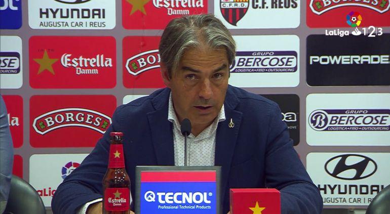 Natxo González valoró el encuentro del Zaragoza en Lugo