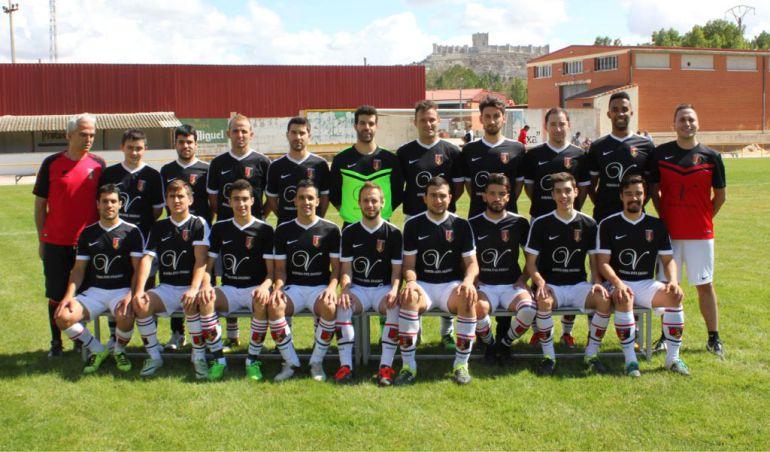 Los integrantes del Atlético Peñafiel