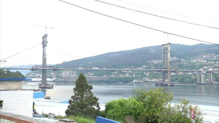 Puente de Rande en la ría de Vigo.