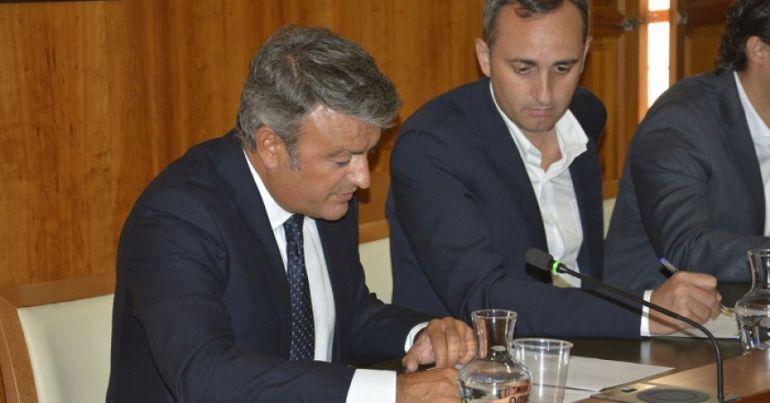 José Chulvi y César Sánchez en una foto de archivo