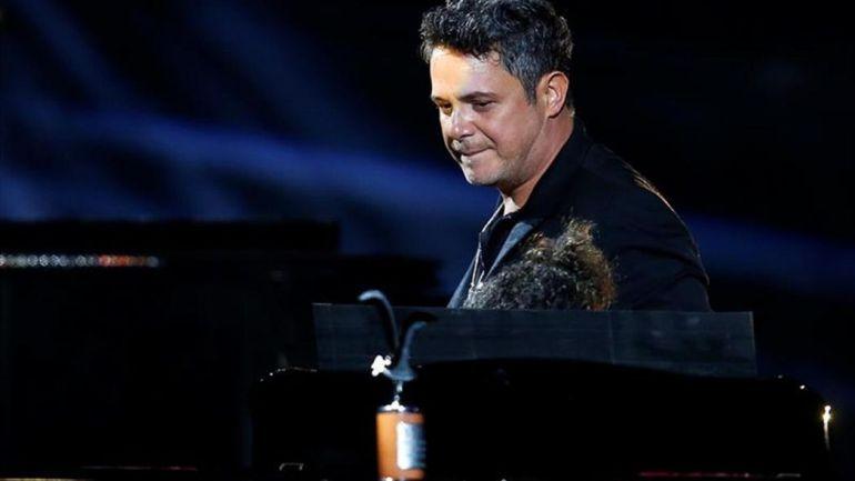 Alejandro Sanz, durante uno de sus conciertos