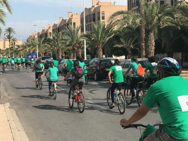 Marcha ciclista urbana