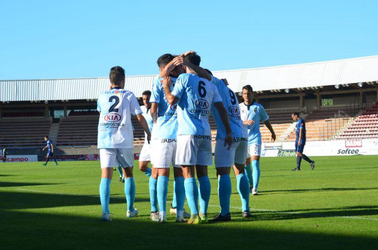 Los jugadores del Compos han marcado seis goles en los dos partidos jugados en San Lázaro