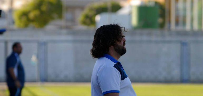 Juan Pedro Ramos durante un partido esta temporada