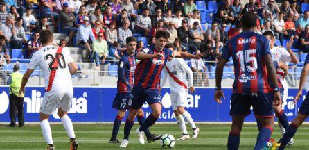 Melero es una de las amenazas ofensivas del Huesca