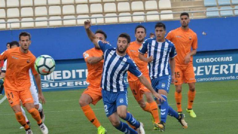 El Lorca FC empata frente al Reus y suma cuatro jornadas sin ganar