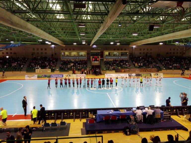 Gran estreno de Naturpellet Segovia en Primera