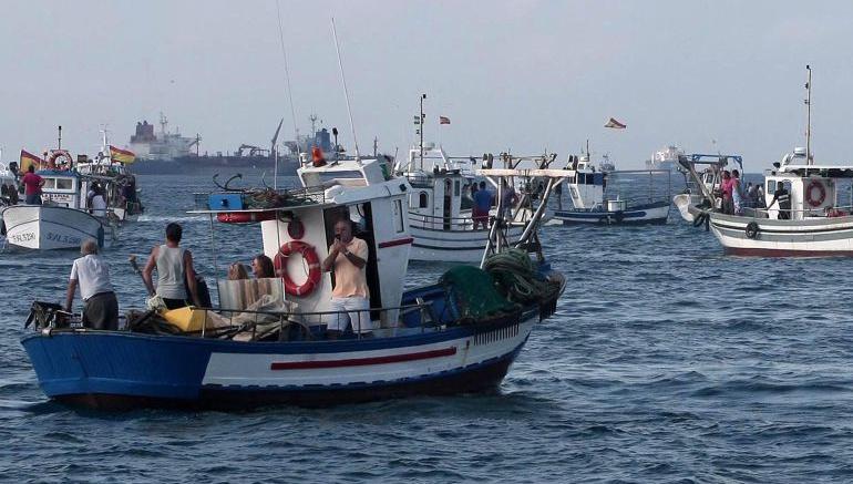 Imagen de archivo de pescadores