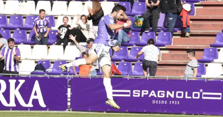 Gianniotas celebra el gol