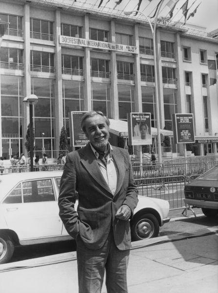 Fernando Rey en Cannes, donde ganó el premio al mejor acto por su participación en 'Elisa Vida Mia' (1977)